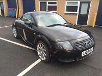 2002 Audi TT 225 Quattro 12 months mot 3 months parts and labour warranty