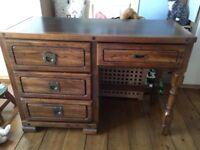 Lovely solid wooden desk
