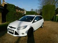 11 FORD FOCUS TITANIUM X 1.6 TDCI MANUAL WHITE 70K
