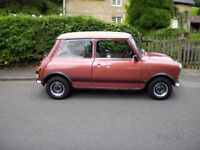 MINI 1100 SPECIAL Mechanical and Body Restoration Superb Condition