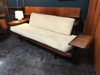 Wentworth Sofa Day Bed by Toothill. Retro Vintage Mid Century