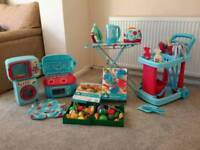 Early Learning complete kitchen set