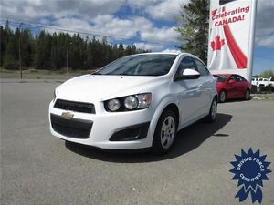 2015 Chevrolet Sonic LT Front Wheel Drive - 35,068 KMs, Seats 5