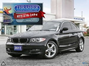 2011 BMW 128I i, Sunroof, Only 72,812 KMS!!