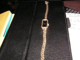 Ladies Avia Manual braclet watch, black face