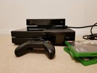 Xbox one bundle with kinect, games and controller (PICK UP ONLY)