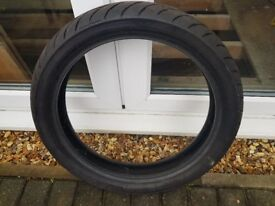 Avon Roadrider 58V 110/80-18 Motorcycle front or rear tyre used