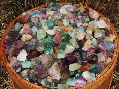 3000 Carat Lots of Unsearched Natural Fluorite Rough + a FREE faceted gemstone