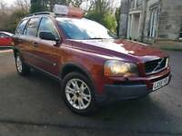 Volvo XC90, 2005 55, Full Service History, MOT Oct 2018, Tow bar, 7 Seater, Timing Belt changed