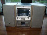 JVC Midi System (CD ,Radio , cassette )