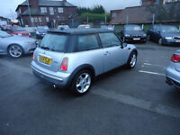 2004 MINI COOPER EUROPEN NAVIGATION SYSTEM TOP CONDITION 12 M MOT NATIOWIDE WARRANTY IS AVAILABLE