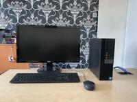 "Dell 3040 SFF intel i5 6500 3.2 ghz 8gb ram 256gb ssd intel HD 530 graphics 22"" acer HD led monitor"