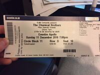 The Chemical Brothers Tickets for sale (x10)