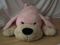 Big Large Plush Dog Toy