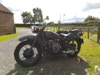Cossack Sidecar k750 Outfit Dnepr Ural