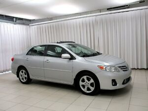 2013 Toyota Corolla LE SEDAN UPGRADE WITH SUNROOF AND ALLOY WHEE