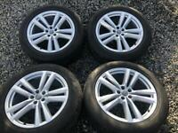 Audi q7 20 inch alloys wheels