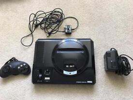 Sega Megadrive 1 Fully Working With 6 button pad