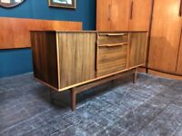 Compact Sideboard by Morris of Glasgow. Retro Vintage Mid Century