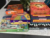 Various Board Games - Speak Out, Othello, Monopoly, Cranium, Articulate, Balderdash