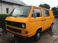 VW T25 Diesel Camper Van