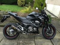 2014 KAWASAKI Z800 Unrestricted Version with Extras!