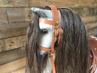 Vintage Antique Wooden Rocking horse restored