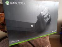 Brand-New Sealed Latest Xbox X With Curry's Receipt