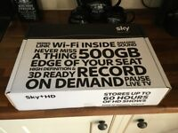 Brand new 500GB SKY HD box still sealed in box.