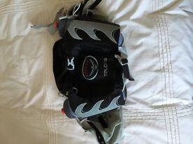 Osprey Talon 6 Lumbar Waist Pack with bottles