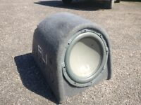USED FLI 1000WATTS SUB & AMP