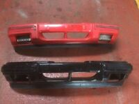 Ford sierra front bumper painted type - x2 - not cosworth bumpers