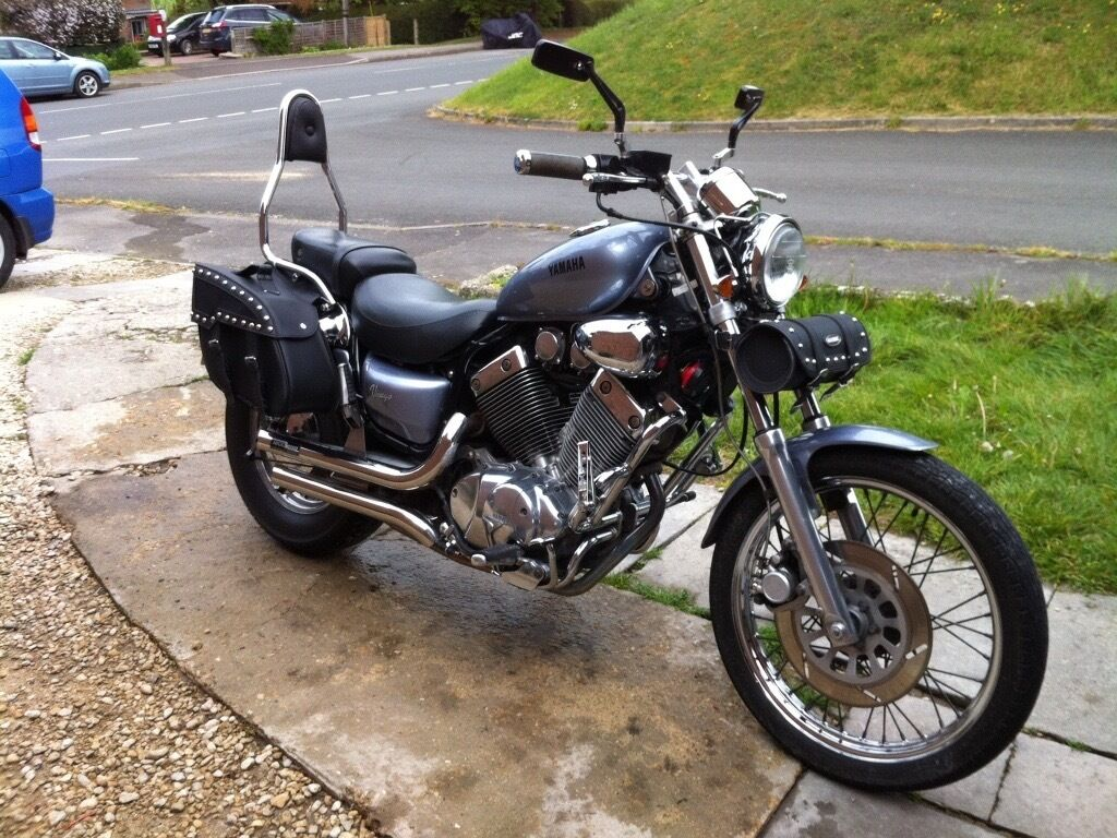 yamaha virago 535 for sale or swap sold subject to collection in pewsey wiltshire gumtree. Black Bedroom Furniture Sets. Home Design Ideas