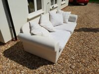 Sofa - 3 seater, loose covers
