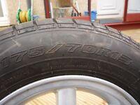 Caravan Wheel & Tyre