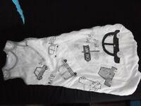 Baby boy sleeping bag age 6-12 months