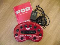 Line 6 Pod - Guitar effects & Amp sim.