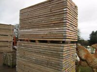 Used Scaffold Boards battens for sale VGC 2.4m x 22cm x 6 cm £10