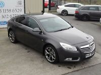 LATE 2010 VAUXHALL INSIGNIA 2.0CDTI EXCLUSIV 157BHP 5DR HATCHBACK( FINANCE & WARRANTY AVAILABLE)
