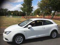 2012 Seat Ibiza Se 1.4 Petrol 12 Months MOT 64000 Genuine Low Mileage Full Service History 3dr
