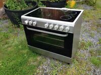 Electric oven and hob range. Domestic