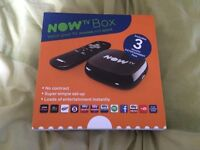 Now TV Box - New + 6 Month Entertainment Pass