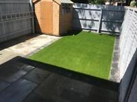 Artificial grass off cut 35mm 4m x 2m