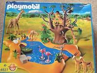 Playmobil 4827 wildlife waterhole 4+
