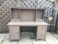 IKEA HEMNES DESK WITH ADD ON UNIT