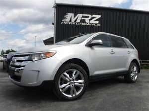 2013 Ford  EDGE  Limited AWD - 20'' - Cuir - Toit pano - GPS - F