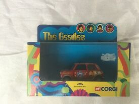 Corgi Beatles Yellow Mini