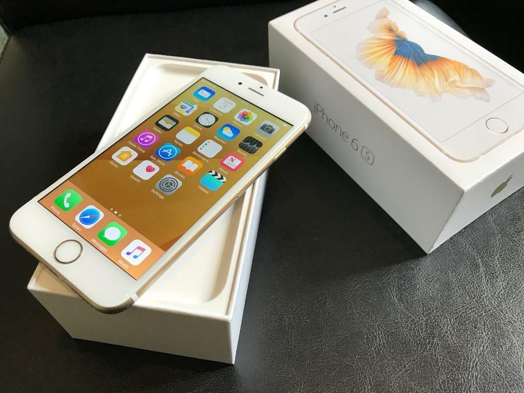iPhone 6s Gold 32GB 5 months old