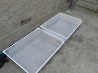 Wardrobe mesh trays