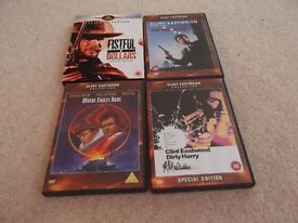 Classic Clint Eastwood DVDs £4 for set